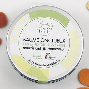 Mini baume onctueux Fraîcheur d'agrumes Clémence et Vivien