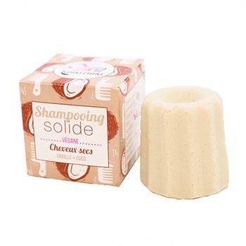 Shampooing solide pour cheveux secs Lamazuna - Coco Vanille