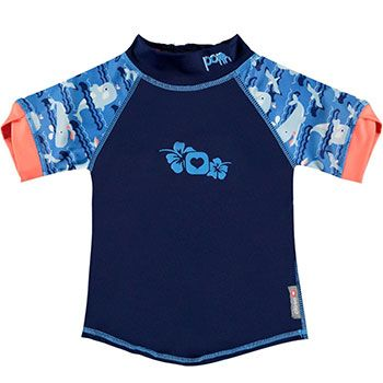 Tee-Shirt anti-UV Close - Baleine