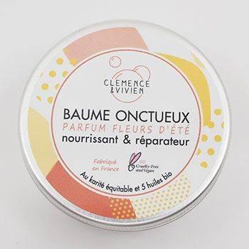 Mini baume onctueux parfum Fleurs d'été Clémence et Vivien