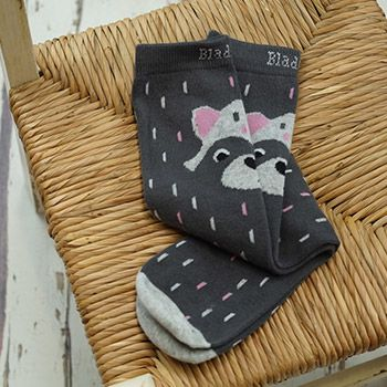 Chaussettes montantes Blade & Rose - Raccoon