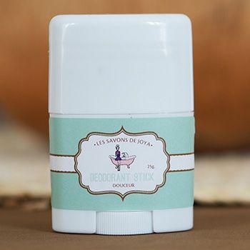 Déodorant stick sans bicarbonate Les savons de Joya