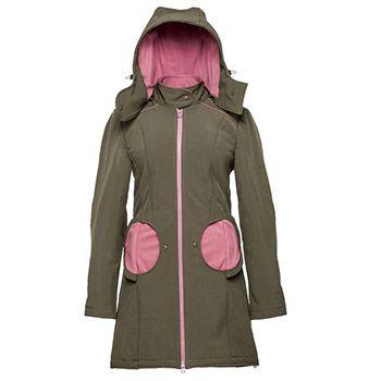 Manteau de portage 4 en 1 Liliputi - Olive-Pink