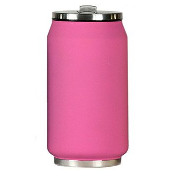 Canette isotherme Inox 280 ml Yoko Design - Soft Touch Rose