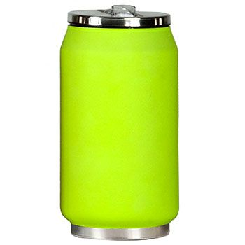 Canette isotherme Inox 280 ml Yoko Design - Soft Touch Vert