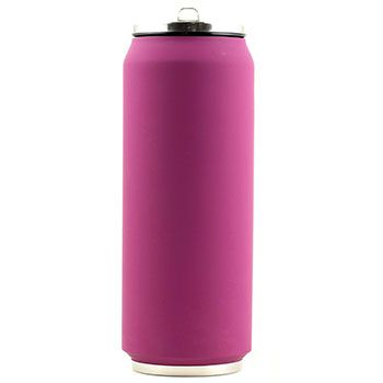 Canette isotherme Inox 500 ml Yoko Design - Soft Touch Violet