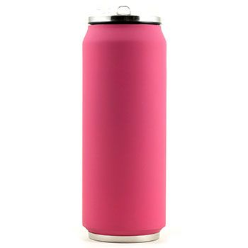 Canette isotherme Inox 500 ml Yoko Design - Soft Touch Rose