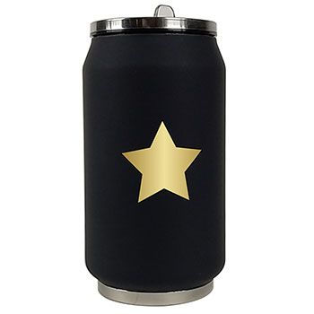 Canette isotherme Inox 280 ml Yoko Design - Star Or