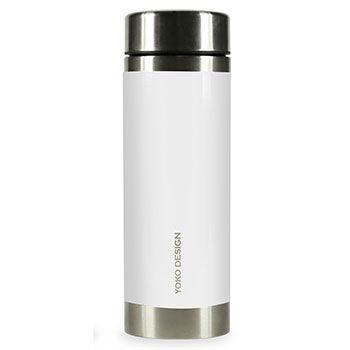 Théière Isotherme Inox 350ml Yoko Design - Blanc
