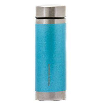 Théière Isotherme Inox 350ml Yoko Design - LiberTea Bleu givré