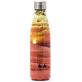 Bouteille Isotherme Inox 500ml Yoko Design - Desert