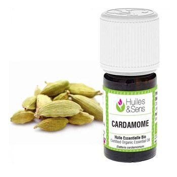Huile essentielle biologique de Cardamone HEBBD 5ML