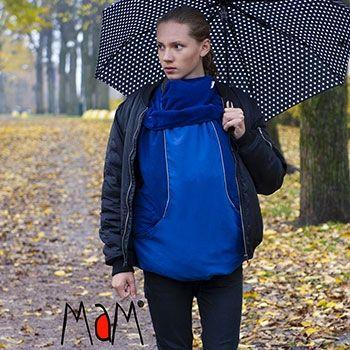 Couverture de portage MAM Deluxe trend Flex Winter Dual Blue