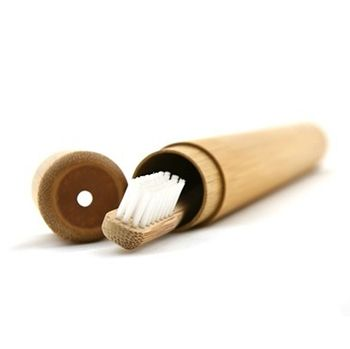 Etui en bambou pour brosse à dents Joli Monde
