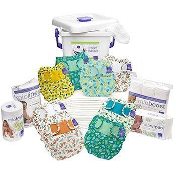 Pack PREMIUM couches lavables Miosoft Bambino Mio - Rainforest