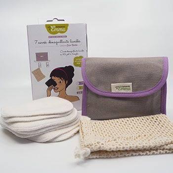 Kit Eco Belle Mini Coton bio biface Les Tendances d'Emma