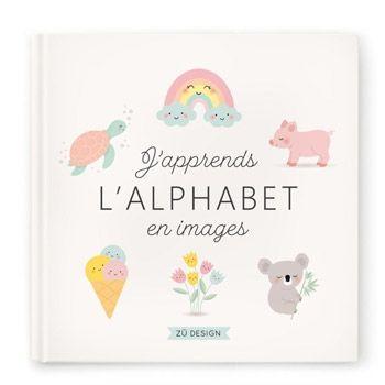 Livre J'apprends l'alphabet en images Zü