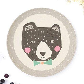 Petite assiette love mae - papa bear