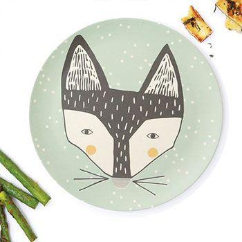 Grande assiette love mae - Fox