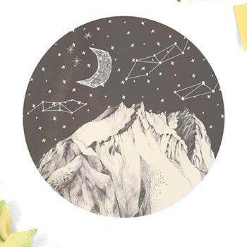 Grande assiette love mae -  Mountains