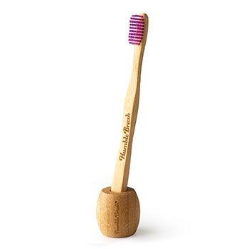 Support pour brosse à dents en bambou Humble Co