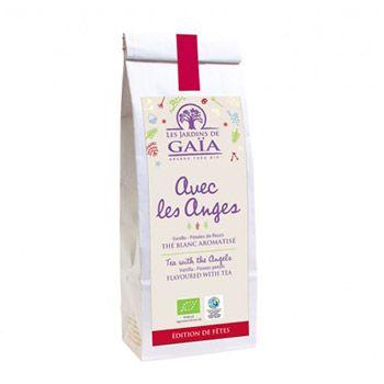 Thé blanc Avec les anges Les jardins de Gaïa - 50g