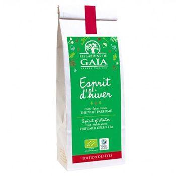 Thé vert Esprit d'hiver Les jardins de Gaïa - 100g