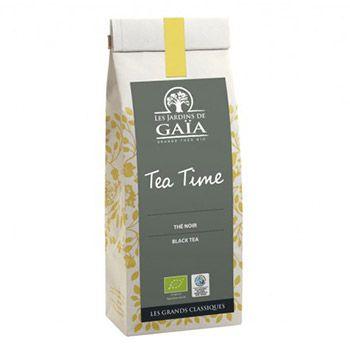 Thé noir Tea Time Les jardins de Gaïa - 100g