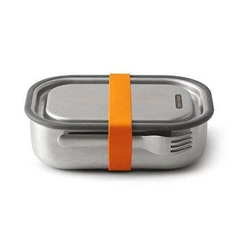 Lunch box en acier inoxydable Black+blum - orange