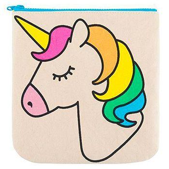 Pochette imperméable en coton bio Fluf - Unicorn