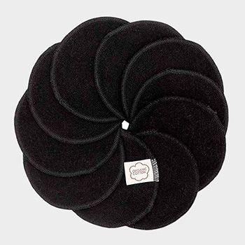 Lingettes démaquillantes lavables Imse Vimse - Black