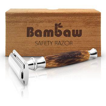 Rasoir de Sécurité avec Manche en Bambou Bambaw