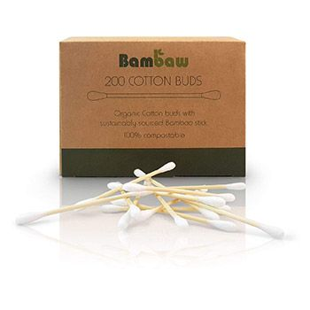 Coton-tiges biodégradables Bambaw