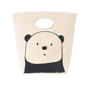 Sac pour repas en coton bio Fluf Panda