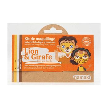 Kit 3 couleurs Lion & girafe Namaki