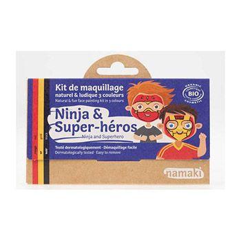 Kit 3 couleurs Ninja & Super-héros Namaki