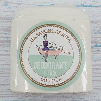 Recharge Stick déodorant sans bicarbonate Savons de Joya
