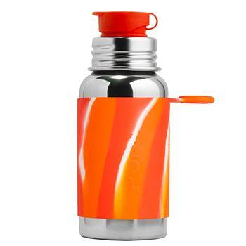 Gourde Sport Inox 550ml Pura Bicolore orange