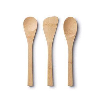 3 Ustensiles de cuisine pour enfants Bambu