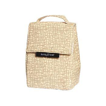 Lunch bag isotherme en coton bio Keep Leaf - Mesh