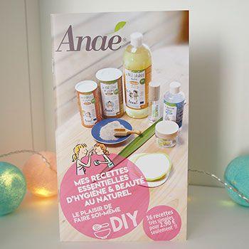 Carnet de recettes Hygiène & beauté Anaé