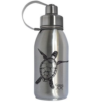 Gourde isotherme Friendly inox Gaspajoe - Tortue