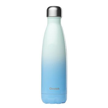 Bouteille isotherme Qwetch 500ml - Blue Sky