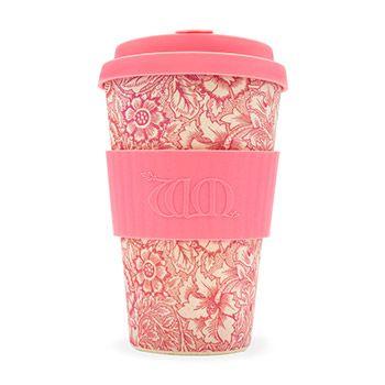 Mug à emporter Ecoffee Cup 400ml William Morris - Poppy