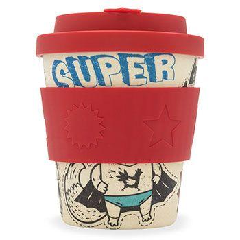 Mug à emporter Ecoffee Cup 250ml Superhero