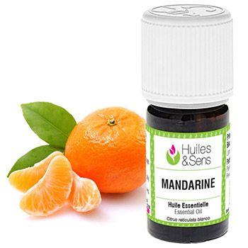 Huile essentielle biologique de Mandarine HEBBD