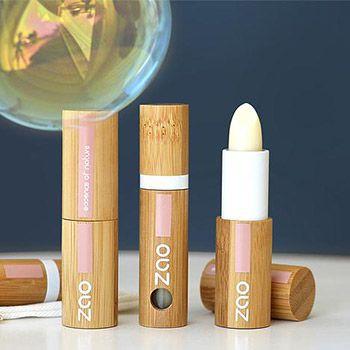 Baume à lèvres stick rechargeable Bio Zao