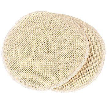 Coussinets d'allaitement lavables Laine & soie Disana - 11cm