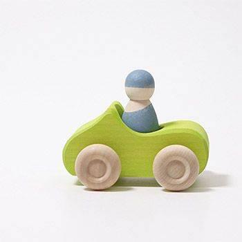 Petite voiture décapotable en bois Grimm's - Vert