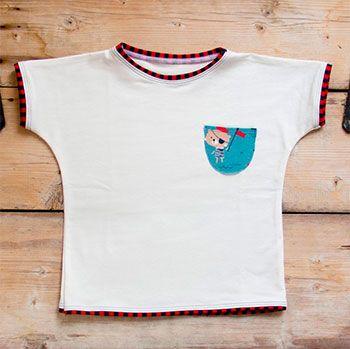Tee-shirt en coton bio Culla Di Teby - Pirates